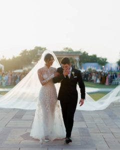 Priyanka Chopra Wedding Gown