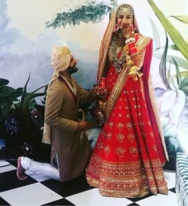 Sonam Kapoor wedding dress