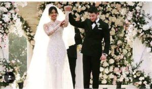 Priyanka Chopra Wedding Gown