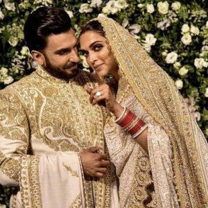 Deepika Padukone wedding dress