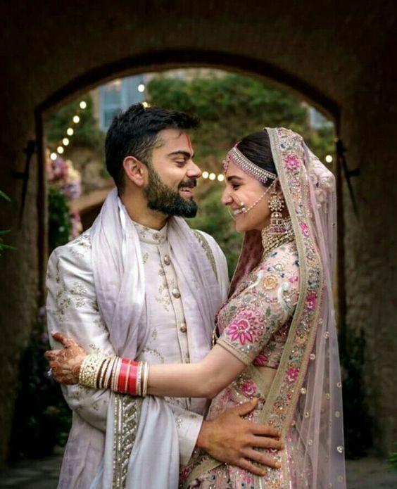 c9d9a38a79 Entire Wardrobe of Anushka Sharma Wedding dress in One Place