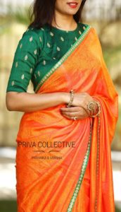 silk saree blouse designs for wedding