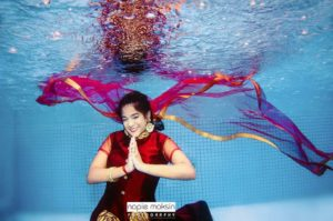 Indian mermaid photoshoot