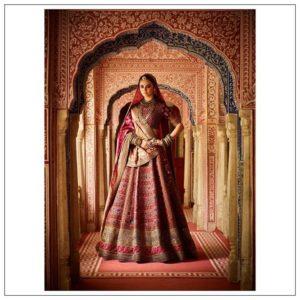 Royal red bridal lehenga collection