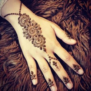 simple mehndi design