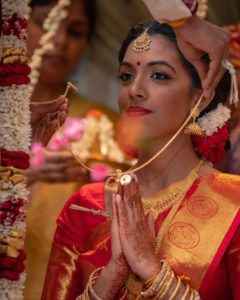 Thaali in Hindu wedding