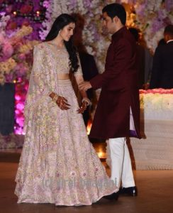 Akash Ambani engagement photo