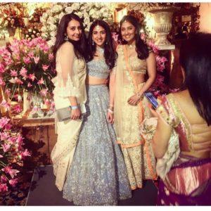Akash Shloka pre-wedding celebration