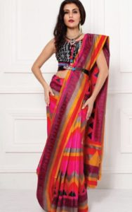 Saree Pallu Pleats