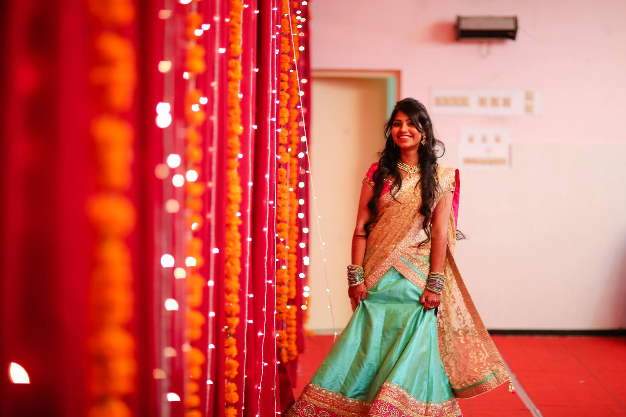 7 best hairstyles for lehenga choli you can try in your wedding
